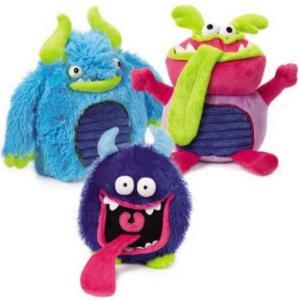 China Odor Free Plush Pet Toys , Grriggles Grunting Buglies Soft Plush Dog Toys on sale