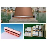 China Mobile Phone Lithium ion Battery Copper Foil , 20 Mic Electrolytic Copper Foil wholesale