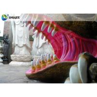 China Flexible Mobile 5D Dinosaur Cinema Equipment 5D Movie Theater System ISO9001 wholesale