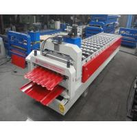 China Glazed tile and trapezoidal double sheet roll forming machine wholesale