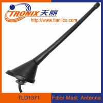 China roof or rear deck mount fiber mast car antenna/ passive car am fm radio antenna TLD1371 wholesale
