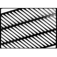 China High Strength PP Uniaxial Geogrid Black for Retaining Wall , 260KN/M wholesale
