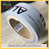 Quality Black & White Low Tack Surface Protection Film Tape For PVC / ABS Sheet for sale