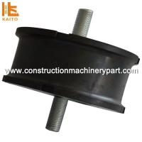 Shock Resistant Round Natural Rubber Mounting Hardness / Durability