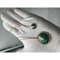 China Malachite High End Custom Jewelry Amulette De Cartier Necklace For Women wholesale