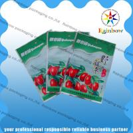 Custom PET / AL / PE Printing Mylar Snack Bag Packaging With Colorful Printing