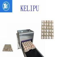 China Easy Operation Egg Laser Batch Coding Machine With Thermal Foam Type Nozzle wholesale