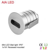 China Aluminum 3W outdoor IP67 mini LED spot light/LED stair light/led underground light for villa wholesale
