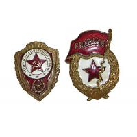 China Light Weight Custom Metal Pin Badges Injected Or Debossed Logos Long Service Life wholesale