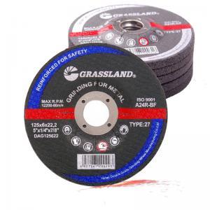 China 125x6.4x22mm En12413 Resin Bonded Grinding Wheel Polishing Carbon Steel wholesale