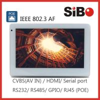 """China Building Automation 7"""" Android Tablet PC Support POE RS485 Wall Mount wholesale"""