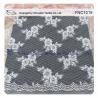 Buy cheap Light Orange Flower  Cotton Nylon Lace Fabric for dress , fashion garments, wedding dress from wholesalers
