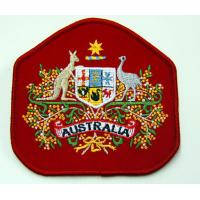 Quality Embossed Plastic Custom Embroidered Patches for sale