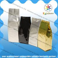 China Custom Coffee Stand Up Bags Colorful Printing Lightweight With Ziplock wholesale