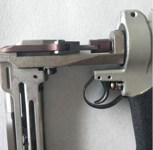 China Pneumatic Air Compressor Nail Gun , Sofa Springs Air Powered Nail Gun on sale