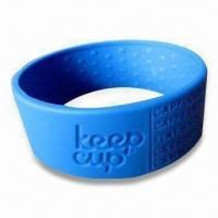 China Cup Sleeve/Holder, Made of 100% Food Grade Silicone, Customized Orders Welcomed wholesale