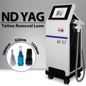 China 6ns Pulse Width 800W 10Hz Laser Tattoo Removal Equipment on sale