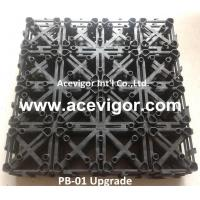 China PB-01 Upgrade Interlocking Plastic Grid for DIY deck tiles wholesale