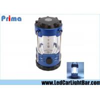 China 12 LED Bivouac Led Camping Lantern With Compass Plastic 3 X AA Batteries wholesale