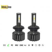 China LED replacement headlight bulb, Wide Voltage 4000lm H7 LED Headlight Bulbs High Low Beam For Motorcycle on sale