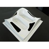 Hard Vacuum Forming Pvc Sheet  White ABS Plastic Enclosure Textured Surface