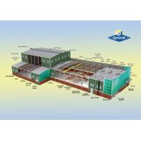 Buy cheap Water Proof Steel Structure Workshop Buildings Hot Dip Galvanized Surface from wholesalers
