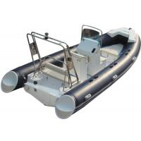 China 520cm ORCA  Hypalon  inflatable rib boat rib520 sunbed fuel tank with big  center console butterfly anchor wholesale
