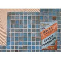 Quality White Sandstone Heat Resistant Mosaic Tile Adhesive For Bathroom / Building for sale