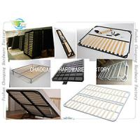 China Foldable Metal Slatted Bed Base , Adjustable Bed Frame All Size Available wholesale