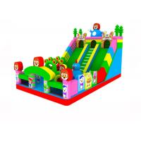 China Outdoor Colorful Inflatable Castle Bouncer , 12x7m Giant Inflatable Bouncers on sale