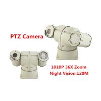 China 360 Degree Vehicle Mounted PTZ Camera PTZ Video Camera IP66 10kg With IR Lights wholesale