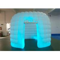 China Portable 1 Door White Inflatable Photo Booth / Trade Show Booth For Event wholesale