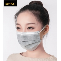 China Disposable Breathable 4 Layer Activated Carbon and non-woven fabric protective Mask wholesale