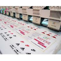 China Industrial Computerised Towel / Garment Flat Embroidery Machine , 15 Head 9 Needle wholesale