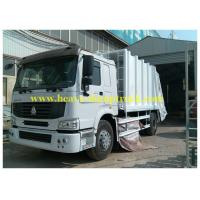 China Compressed Sanitation Garbage Truck 6X4 for transporting rubbish wholesale
