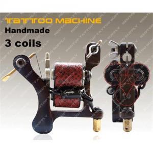 China 3 Coil Handmade tattoo machine wholesale