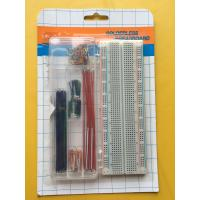 China ROHS 830 Tie Points Breadboard And 70 Pcs Flexible Jumper Wire Kit wholesale