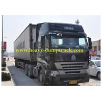 China T5G 340HP Refrigerated Box Truck  for transport , Commercial Refrigerated Vans wholesale
