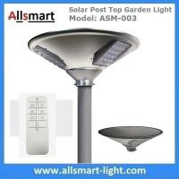 China New 30W 3000lm UFO Solar Garden Lights All In One Parking Lot Lamp Solar Energy Products With 50W Solar Panel Aluminum wholesale