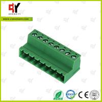 China PA66 and Copper Connector Terminal Block HQ2TBKR 5.0 / 5.08 Spacing wholesale