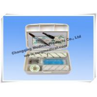 China Small Plastic Surgical First Aid Kits For Car / Travelling Emergency wholesale