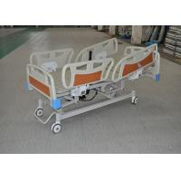 China CPR Function Clinic Electric Bed With collasible ABS Side Rails wholesale