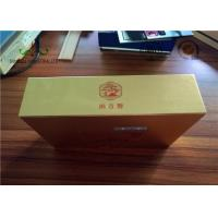 China Gloden Face Finishing Embossing Paper Packing Box For Candy SGS wholesale