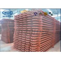 China ASME Standard Hot Water Boiler Stack Economizer Economiser Tubes Anti Corrosion wholesale