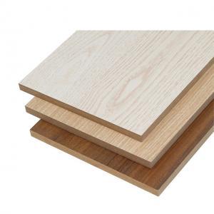 China Natural Wood Color Melamine Faced MDF Board Polished Surface FSC Compliant wholesale