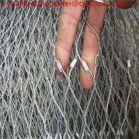 China ferrule mesh/stainless rope/zoo netting/stainless steel wire cable/316 stainless steel wire rope/wire cable netting wholesale
