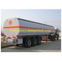 China Chemical flammable Fuel Delivery Trucks 33cbm 8x4 with carbon steel wholesale