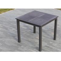 Buy cheap Anti-Corrosion Wood Plastic Composite Slats / Outdoor Leisure Furniture Set from wholesalers
