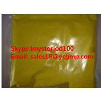 Yellow Raw Steroid Powders Isotretinoin / Roaccutane Orange Crystal Powder for Treating Acne