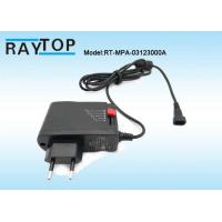 China 3-12V Current 2.5A Wall Mount Power Adapter 8 DC Tips without usb EU Plug wholesale